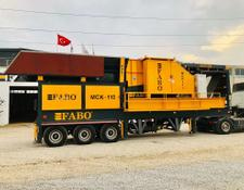 Fabo MCK-115 SERIES MOBILE CRUSHING & SCREENING PLANT FOR HARDSTONE