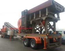 Constmach Mobile Jaw + Cone Crusher  MOBILE CRUSHING PLANT FOR SALE