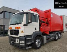 MAN TGS 26.320 6X2-2 BL / Lenkachse / GERMAN