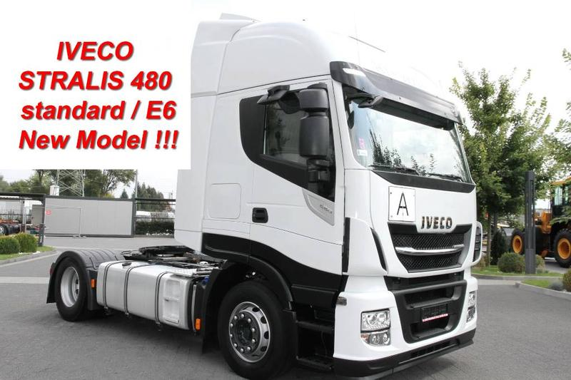 Mercedes-Benz TRACTOR UNIT STRALIS 480 HI-WAY E6 NEW MODEL! AFTE
