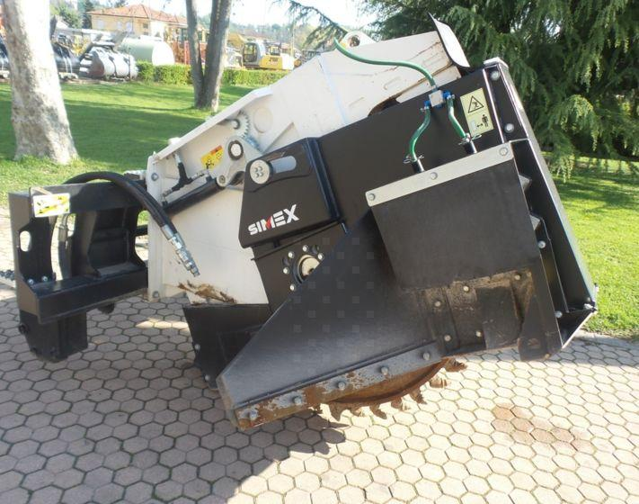 2017 SIMEX RW500 WHEEL SAW TRENCHER