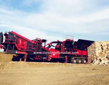 Constmach Mobile Limestone Crusher CE CERTIFICATED