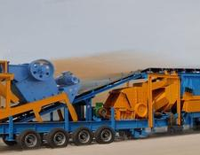 Constmach JS-2 MOBILE JAW + IMPACT CRUSHING PLANT