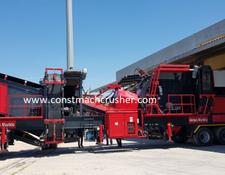 Constmach Mobile Limestone Crusher 250 TPH CAPACITYREADY TO SHIPMENT