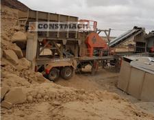 Constmach MOBILE JAW + IMPACT CRUSHING PLANT READY AT STOCK