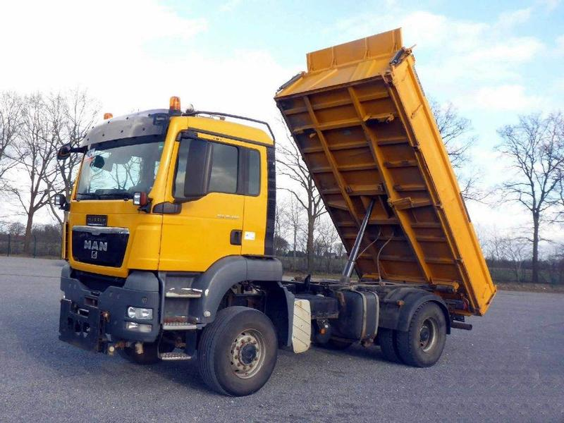 MAN 3 SIDED TIPPER TGS 18.400 MEILLER-KIPPER 4x4