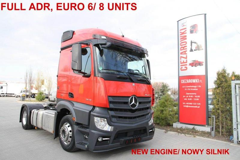 Mercedes-Benz TRACTOR UNIT ACTROS 1843 LS FULL ADR E6 NEW ENGINE