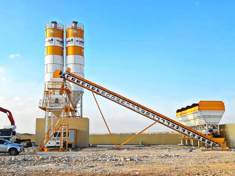 Fabo POWERMIX-100 CONCRETE MIXING PLANT | SPECIAL OFFER | CALL NOW