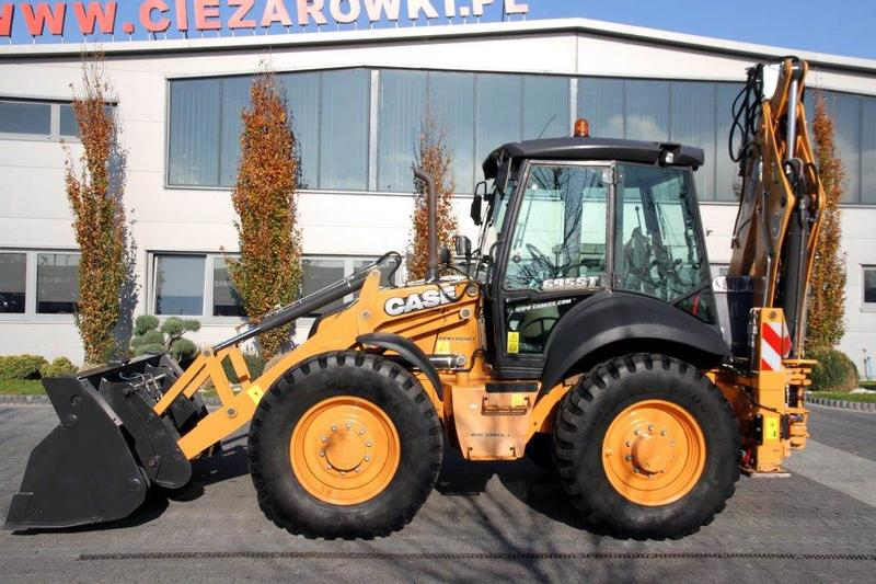 Case BACKHOE LOADER 695 ST POWERSHIFT