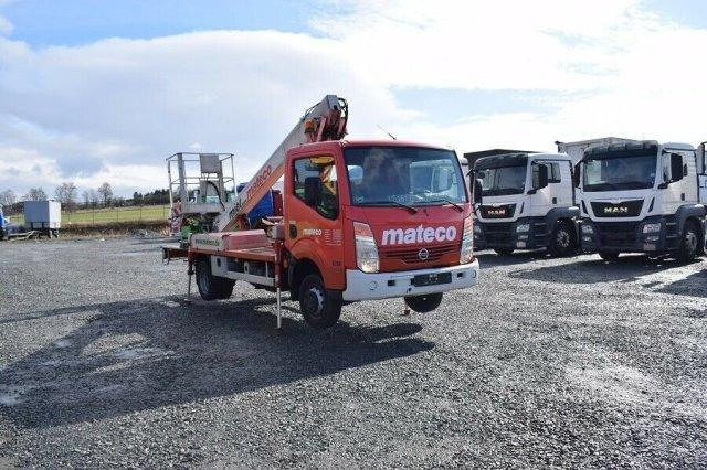 Nissan Cabstar 35.11 Multitel 160 Alu