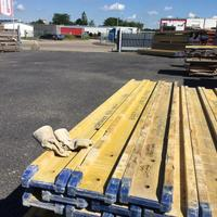 Used Timber formwork for sale - baupool co uk