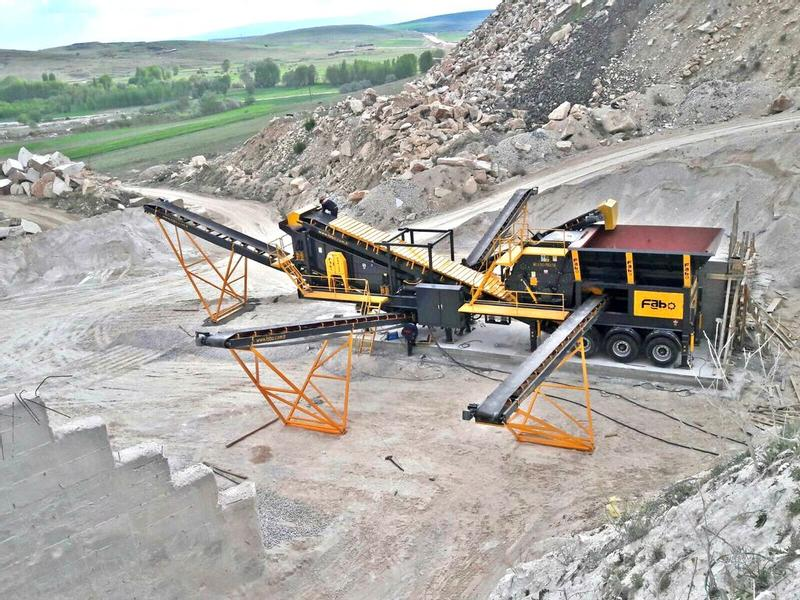 Fabo PRO-120 CRUSHING&SCREENING PLANT|FOR LIMESTONE