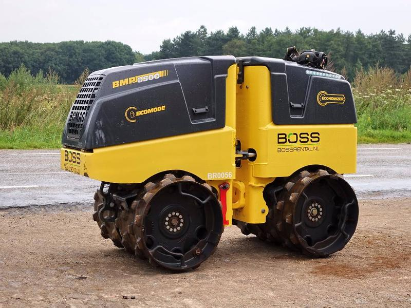 Bomag BMP 8500 (ONLY 171 HOURS!)