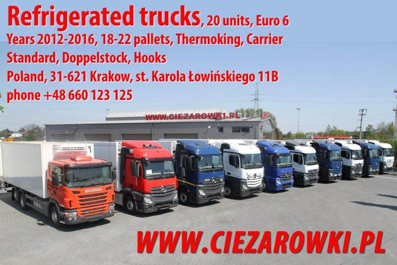 Mercedes-Benz SCANIA ACTROS 2540 2542 2543 2545 G