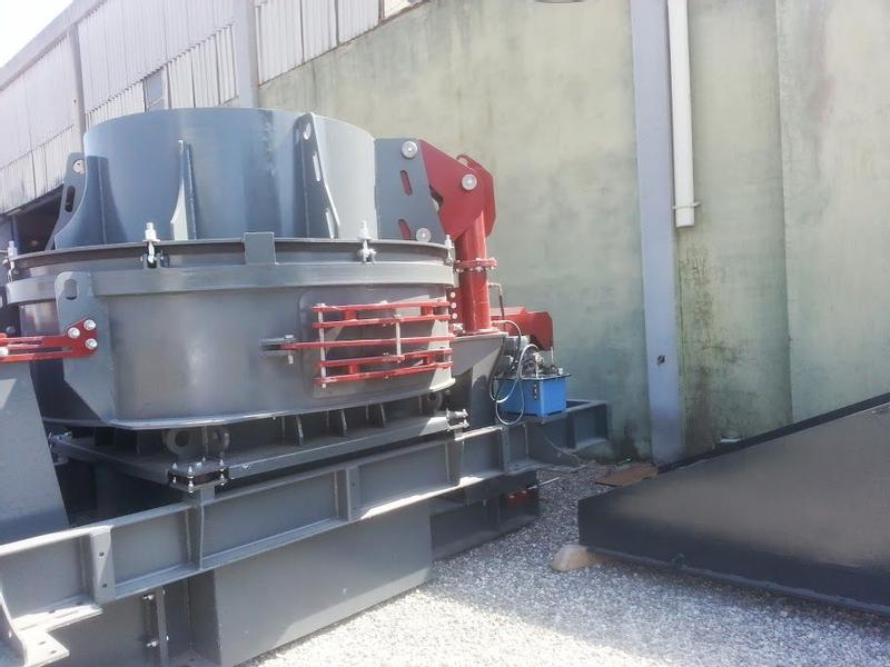 Fabo VSI 700 | Vertical Shaft Impact Crusher | Ideal Sand Maker for H
