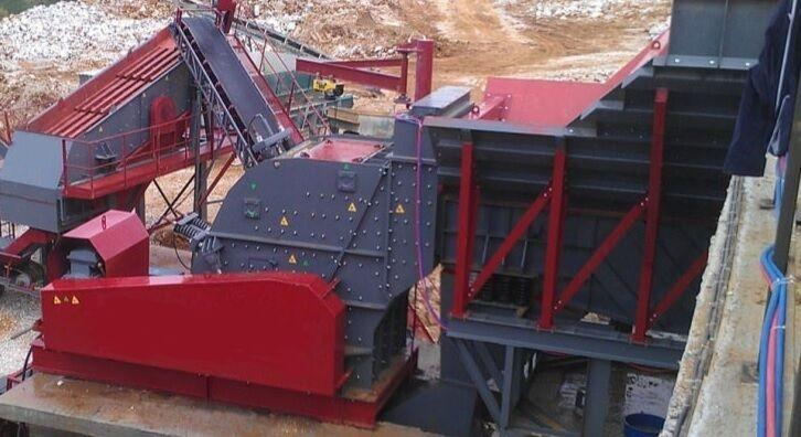 Fabo PDK-180 SERIES PRIMARY IMPACT CRUSHER