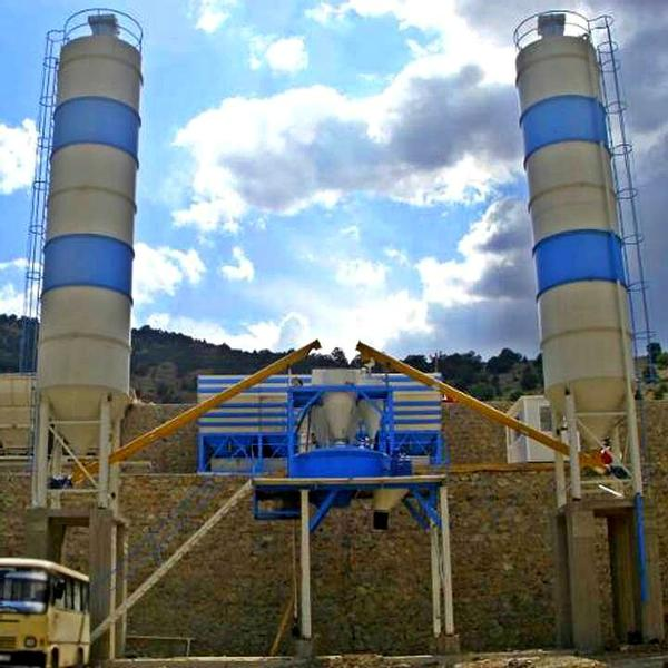 Fabo Powermix-60 Concrete Plant | Ideal long term settlement