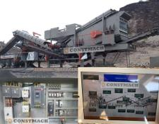 Constmach MOBILE CRUSHERS FULL AUTOMATIC READY TO DELIVERY