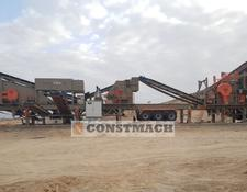 Constmach JS-2 MOBILE JAW + IMPACT CRUSHING PLANT FULL AUTOMATIC