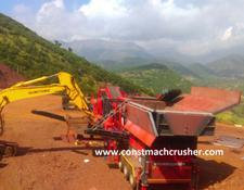 Constmach CE CERTIFICATED Mobile Limestone Crusher