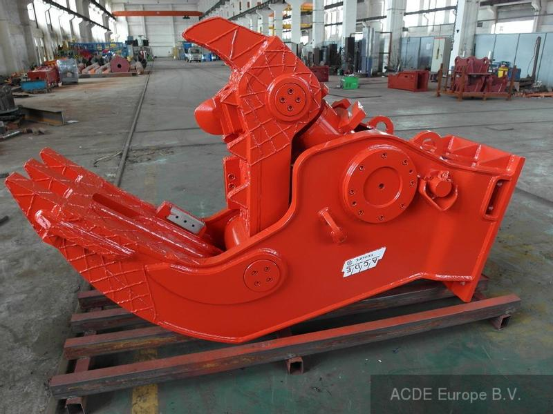 ACDE ASC-1350, 1350 kg Concrete crusher, rigid