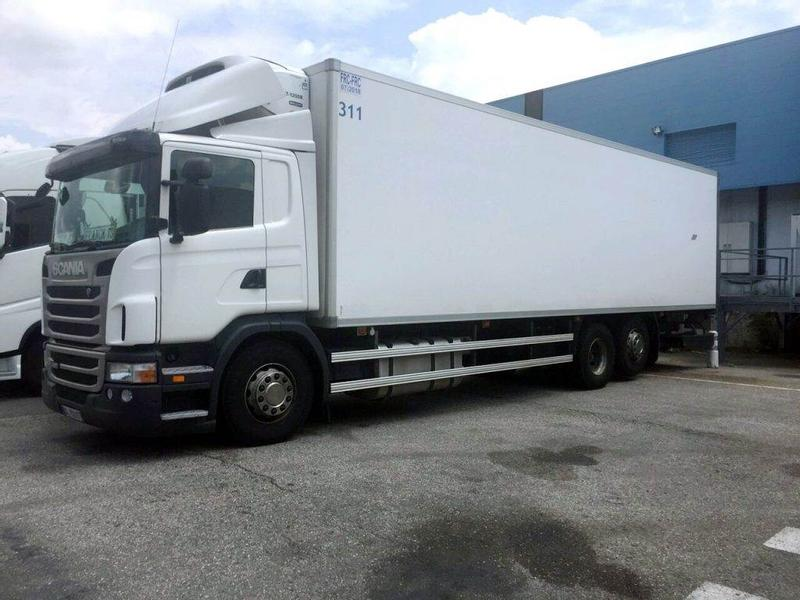 Scania G 420 REFRIGERATOR MULTI TEMPERATURE 22 PALLETS TA