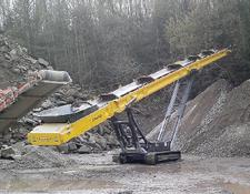 Keestrack STAUSS 230 Stacker Förderband mobil tracked stockpiling conveyor
