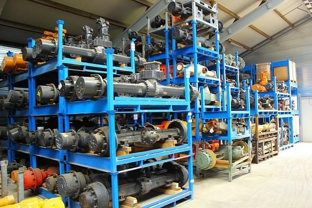 Many different Makes and Types of Axles, used or n