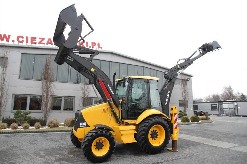 Volvo BACKHOE LOADER BL 61 + PLUS PERFECT