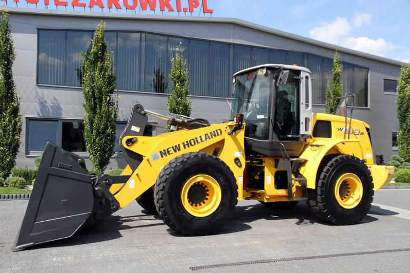 New Holland WHEEL LOADER 20 T W190B HIGH TIP